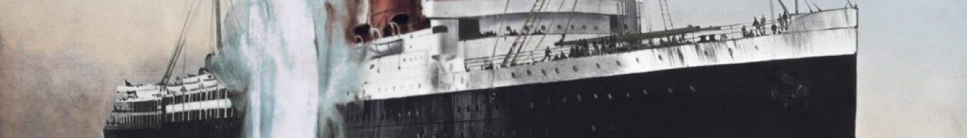 Lusitania Torpedo